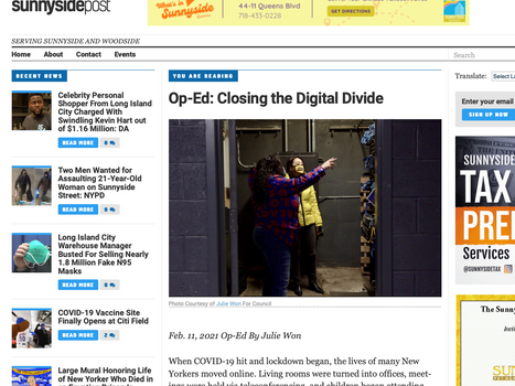 lic Post: Op-Ed: closing the Digital divide