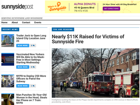 Sunnyside post: Nearly $11K Raised for Victims of Sunnyside Fire