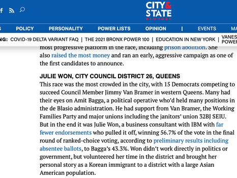 City & State: New York City's most surprising primary results
