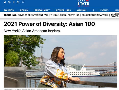 City & State: 2021 Power of Diversity: Asian 100