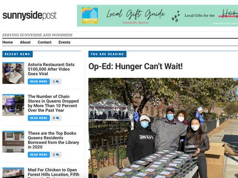 Sunnyside post: Op-ed: Hunger can't wait