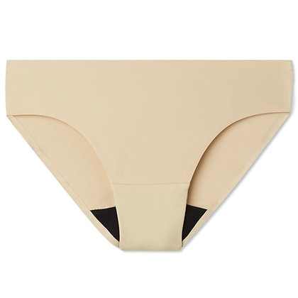 Women's Bliss Seamless Period Underwear - Brief | Nude