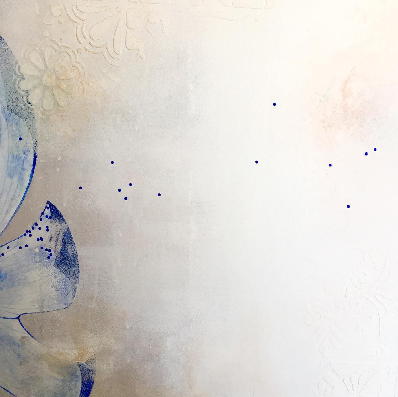 Figurative abstract mural
