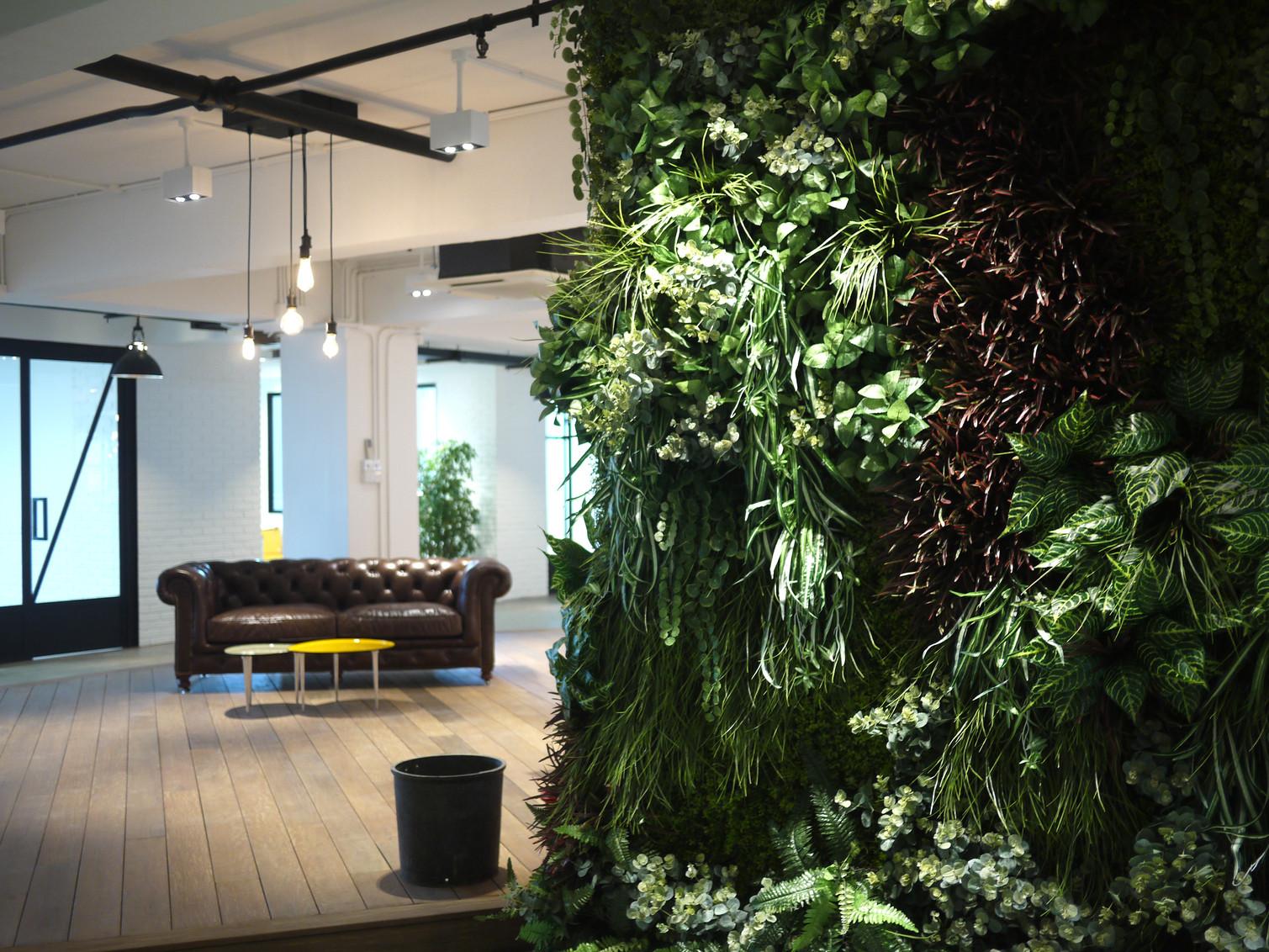 Vegetal wall