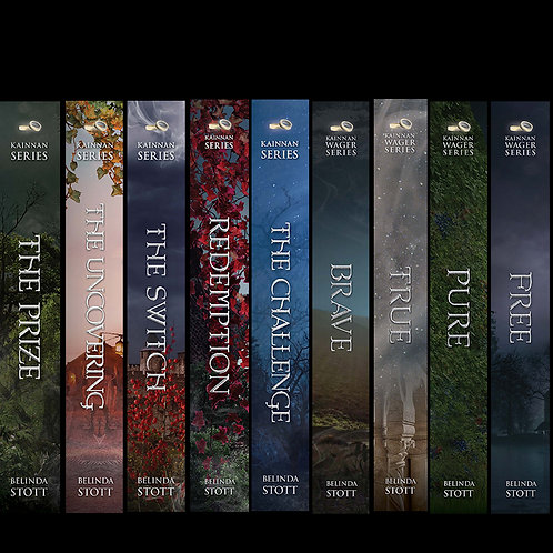 Books 1-9 of The Kainnan Series