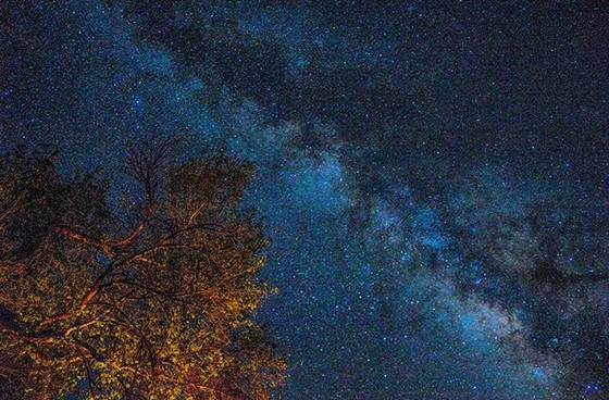 The milky way over camp verde__#milkyway