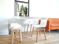 Off The Wall Steel Plate Table