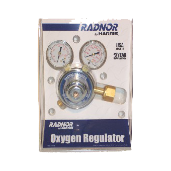 Regulator - Oxygen - w/Gauge - Radnor