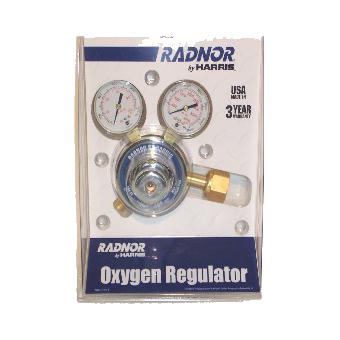 Regulator - Oxygen - w/Gauge - Radnor