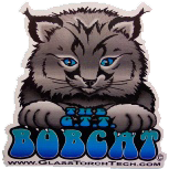 "Sticker - Bobcat 2.5"" x 2.5"""