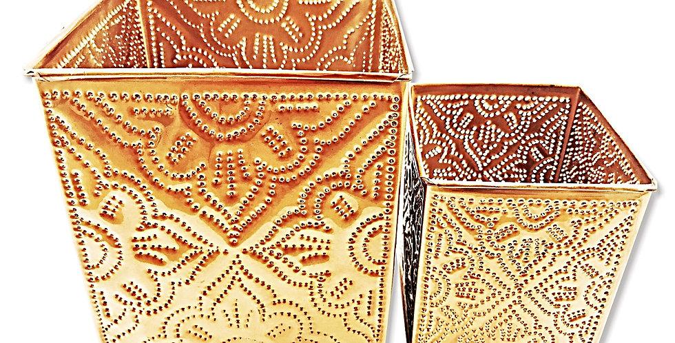 Dupla de Castiçais Cooper Bluegaya - 2 peças frente