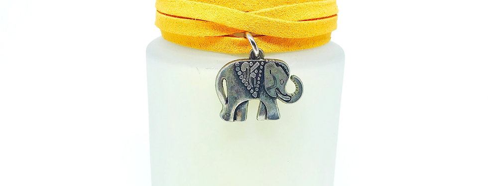 Vela Perfumada Versailles Pingente Elefante da Sorte Bluegaya