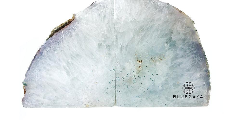 Porta-Livros Light Snow Agata Bluegaya