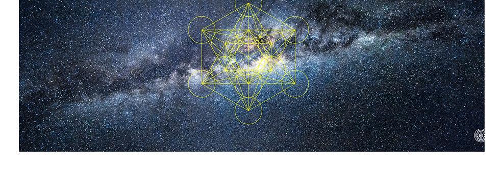 Quadro Bluegaya Universe Metatron