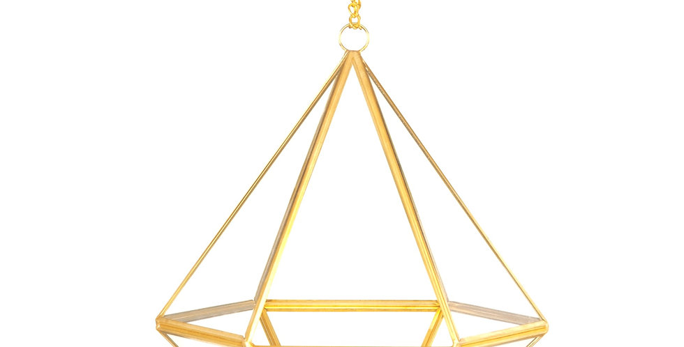 Terrario Pendente Piramidal Bluegaya