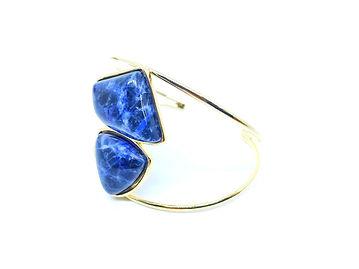 Bracelete de Sodalita | Bluegaya by Solimar Leão