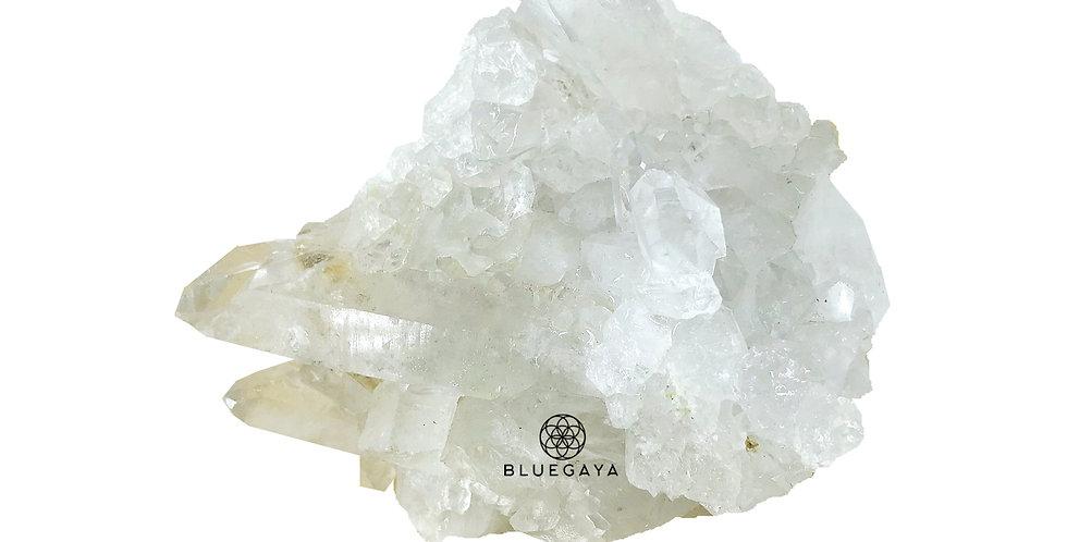 Drusa Quartzo Branco Bluegaya