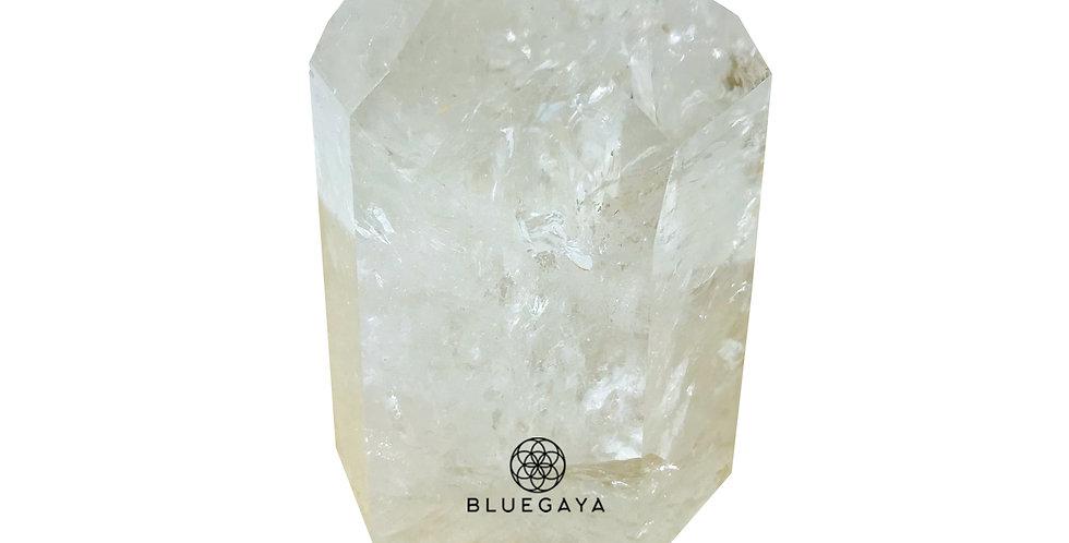 Ponta de Quartzo Branco Bluegaya