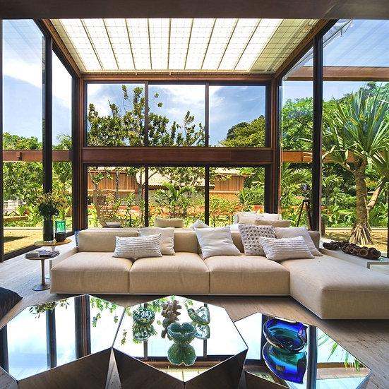 Projeto Solimar Leão - Feng Shui e Terapia de Ambientes à distância - Imóvel de 200 a 300 m²