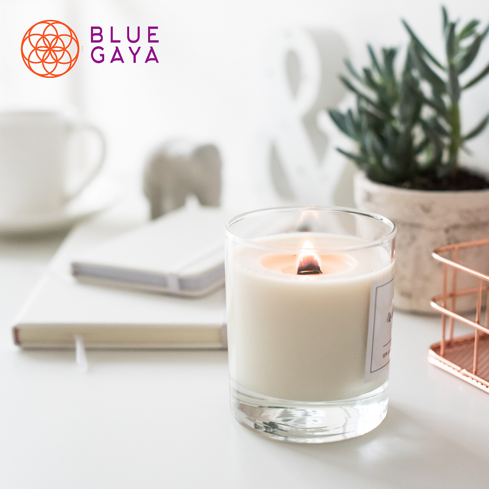Velas Perfumadas Orgânicas Bluegaya