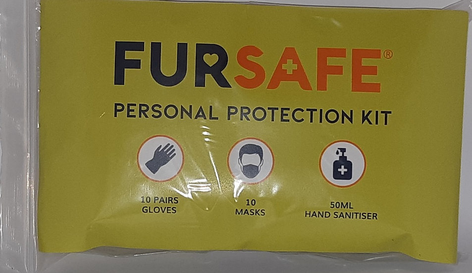 COVID 19 Personal Protection Kit PLUS FREE  pair of safety glasses