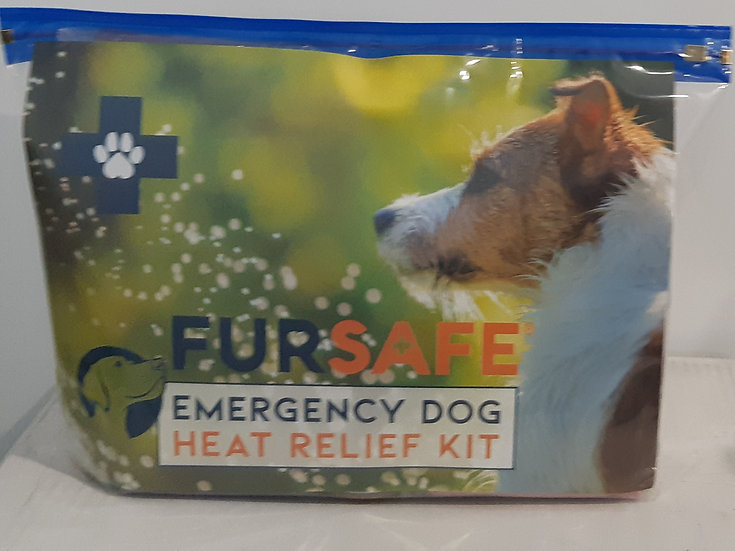 Fursafe Emergency Dog Heat Relief Kit for Dogs