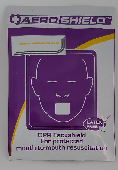 Disposable CPR Faceshield