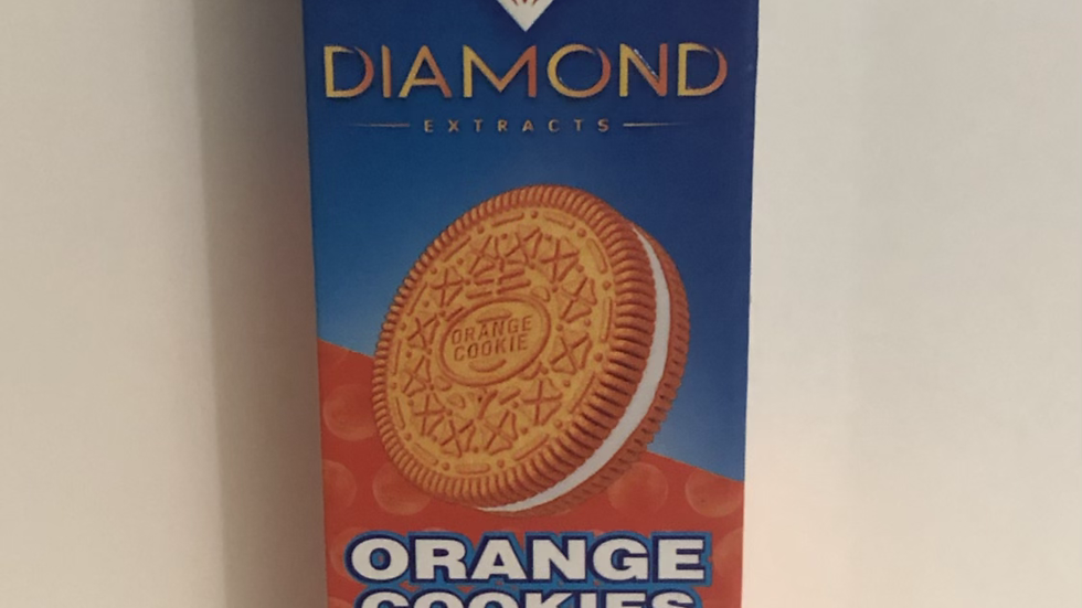 DIAMOND PENS 1g ORANGE COOKIES