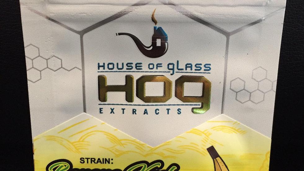 HOG Shatter (BANANA KUSH) HYBRID *1g/$30 or 2g/$50