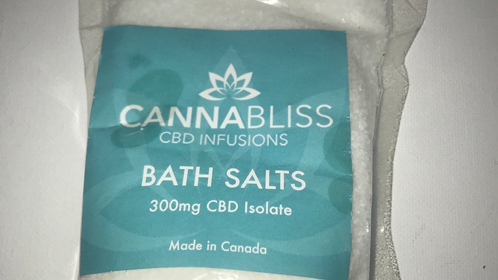 CANNABLISS CBD BATH SALTS: 300MG
