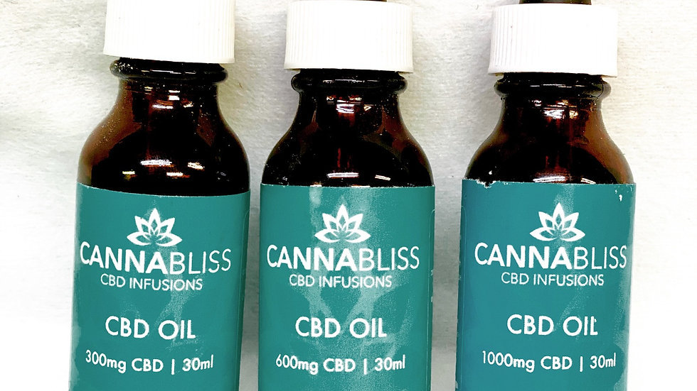 (CANNABLISS) 300mg CBD OIL