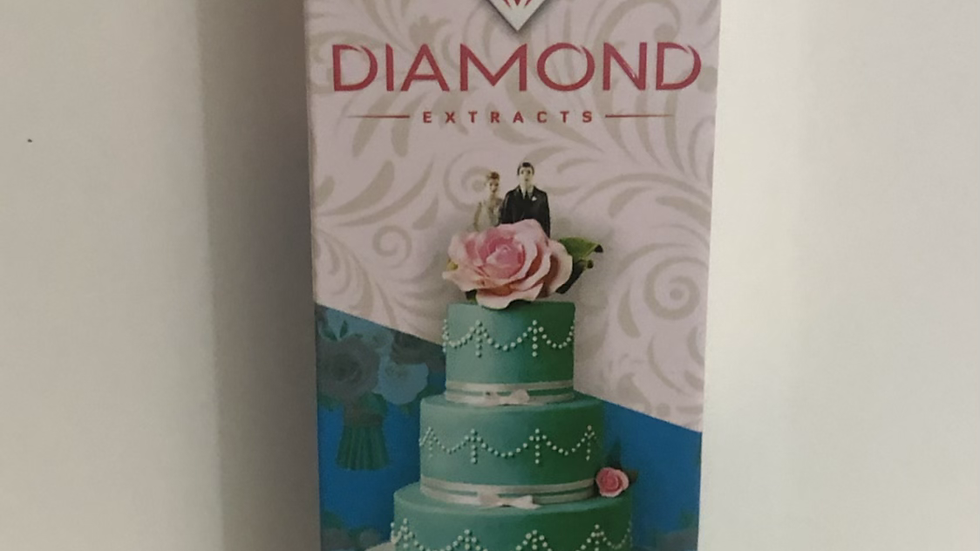 DIAMOND PENS 1g WEDDING CAKE