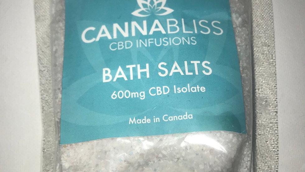 CANNABLISS CBD BATH SALTS:600MG