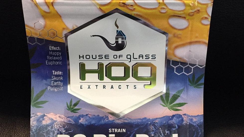 HOG Shatter (BC BIG BUD) HYBRID *1g/$30 or 2g/$50