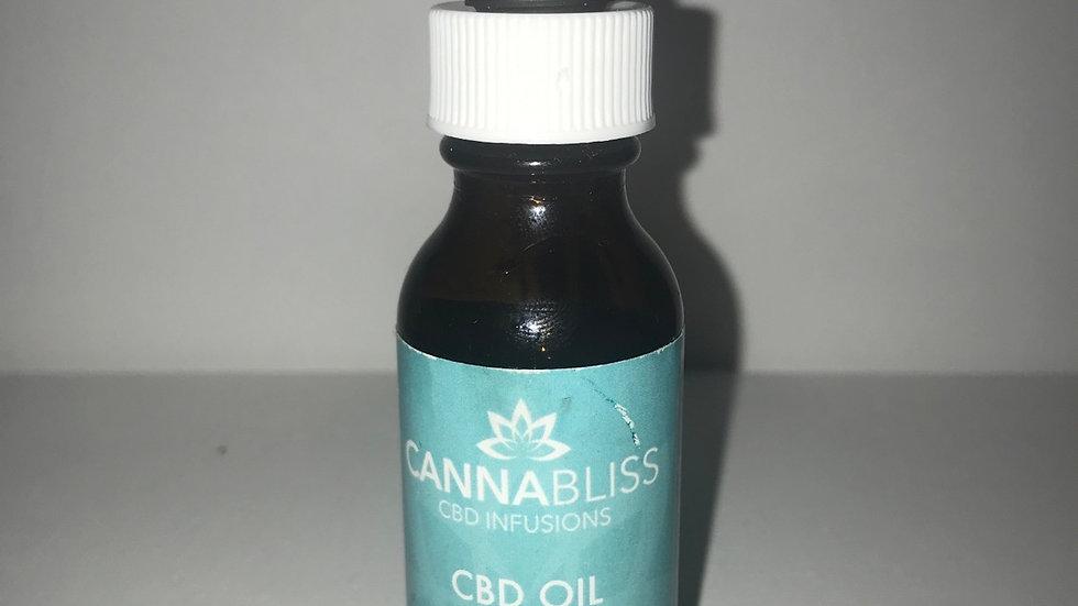 CANNA BLISS: CBD OIL: 300MG