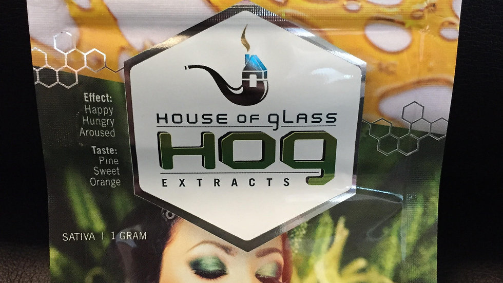 HOG shatter (COLOMBIAN MOJITO) SATIVA *1g/$30 or 2g/$50