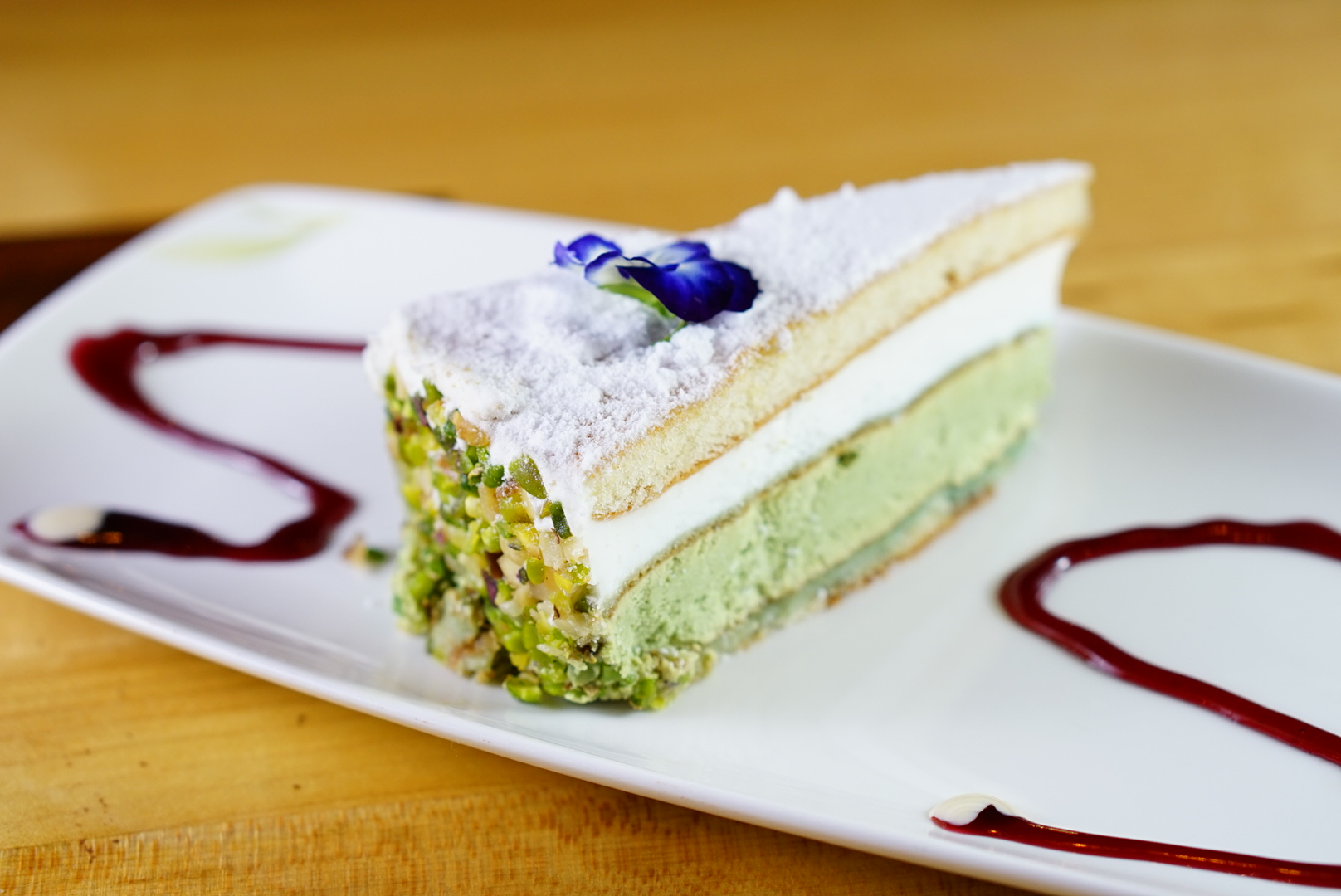 Ricotta & Pistachio Cake