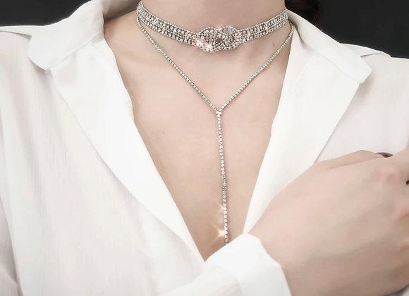 Catlyn Choker In Silver
