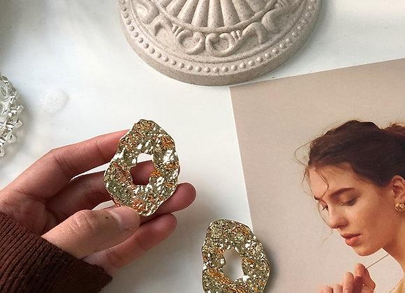 Vintage Chunky Earrings