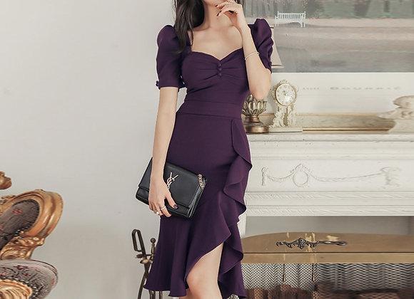 Hayley Ruffle Dress