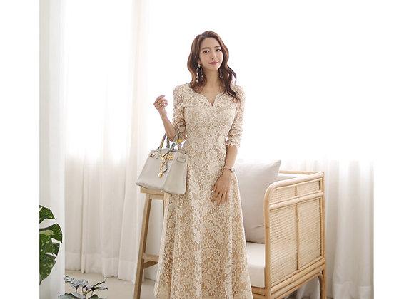 Jaime Lace Midi Dress