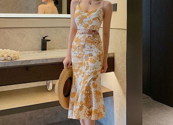 Jayme Ruffled Hem Dress