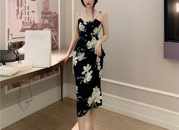 Genesis Floral Midi Dress