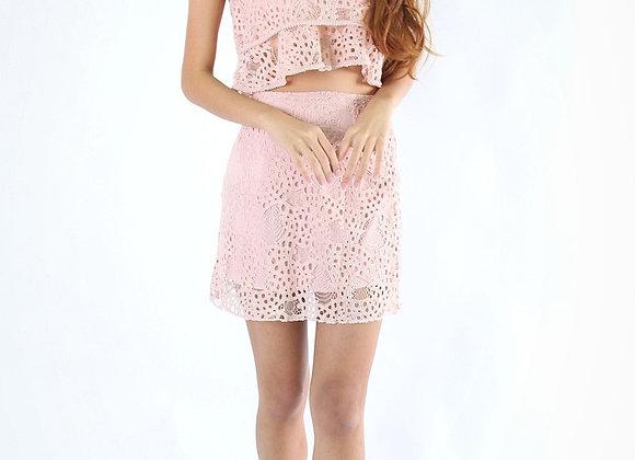 Jess Lace Set In Pink