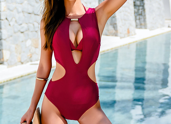 Jodie Sexy Swimsuit in Red