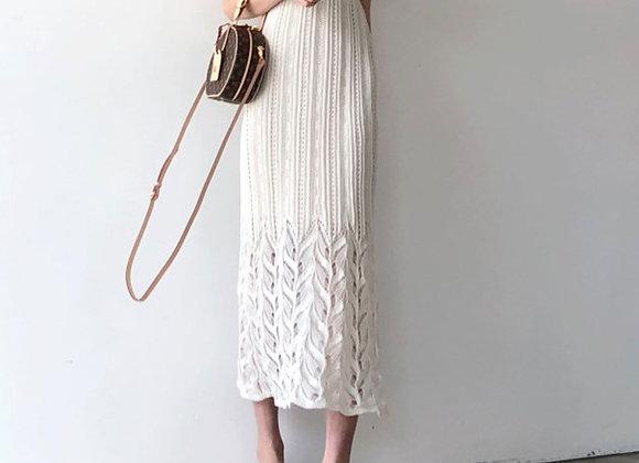 Adina V Neck Midi Dress (Available in White & Jade Green)