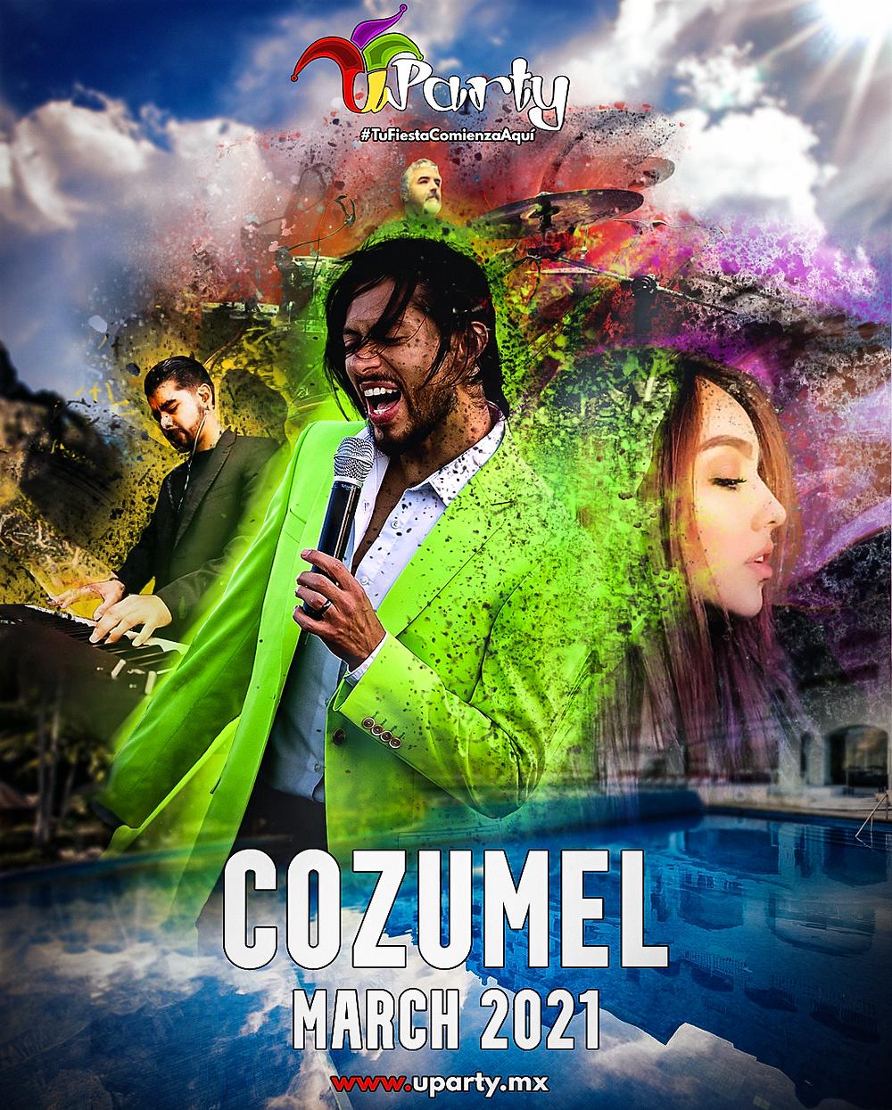 Grupo Musical Versátil U-Party ⎮Temporada Cozumel 2021