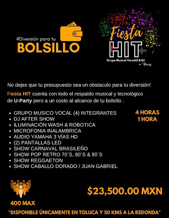 Grupos Musicales En Toluca Fiesta HIT.pn