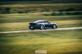 Porsche 992 at our track day