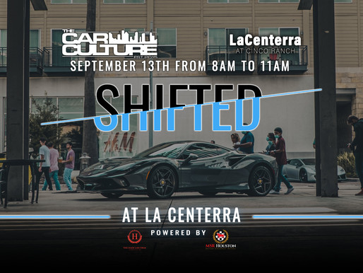 SHIFTED | At La Centerra | The Car Culture